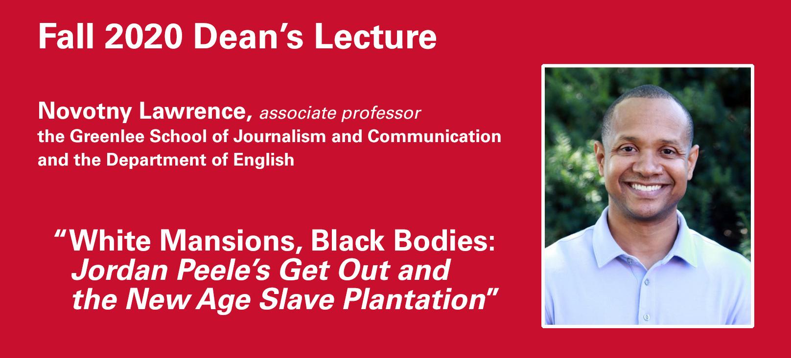 Deans Lecture Header